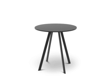 K2 Bar Table. Unique round bar table in black