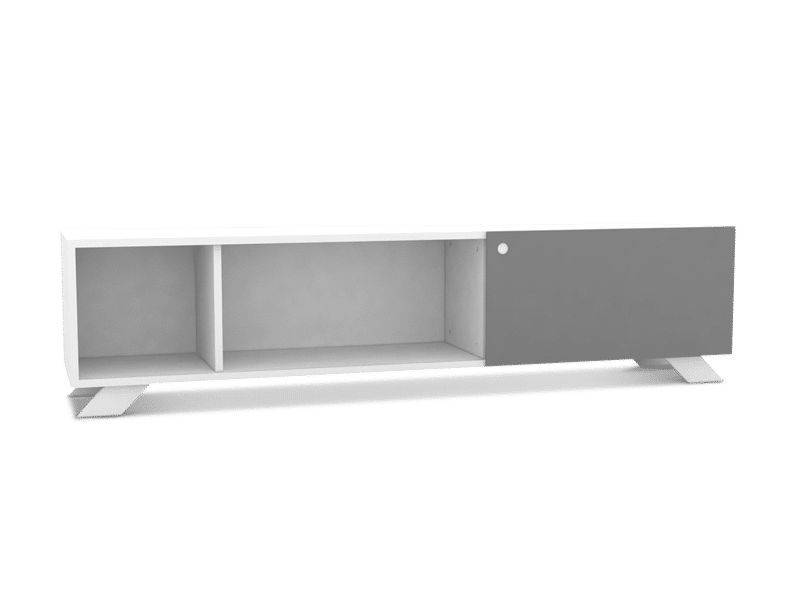 Sideboard 180cm in white