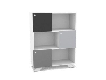 Sideboard 90cm width 115cm height in white