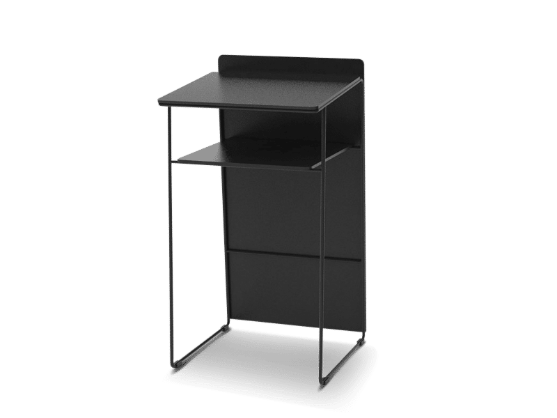 Medium lectern and speaker chair