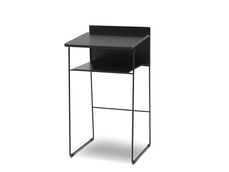Small and light lectern and speaker chair